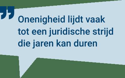 Juridische stappen voor een testament aanvechten